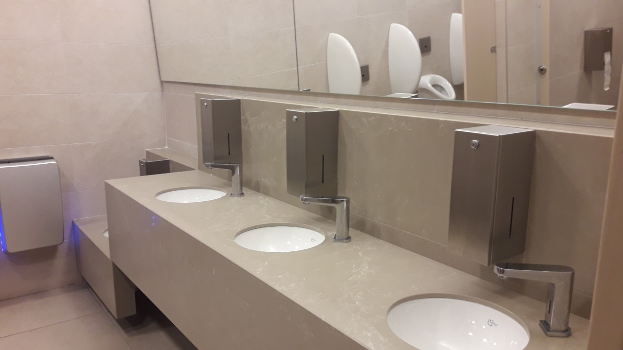 Mall of Cyprus bathrooms