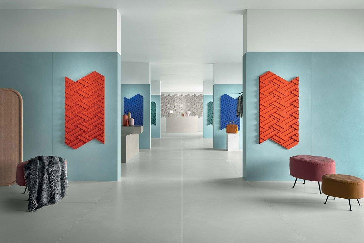 Retail Design With Bright Colourful Details