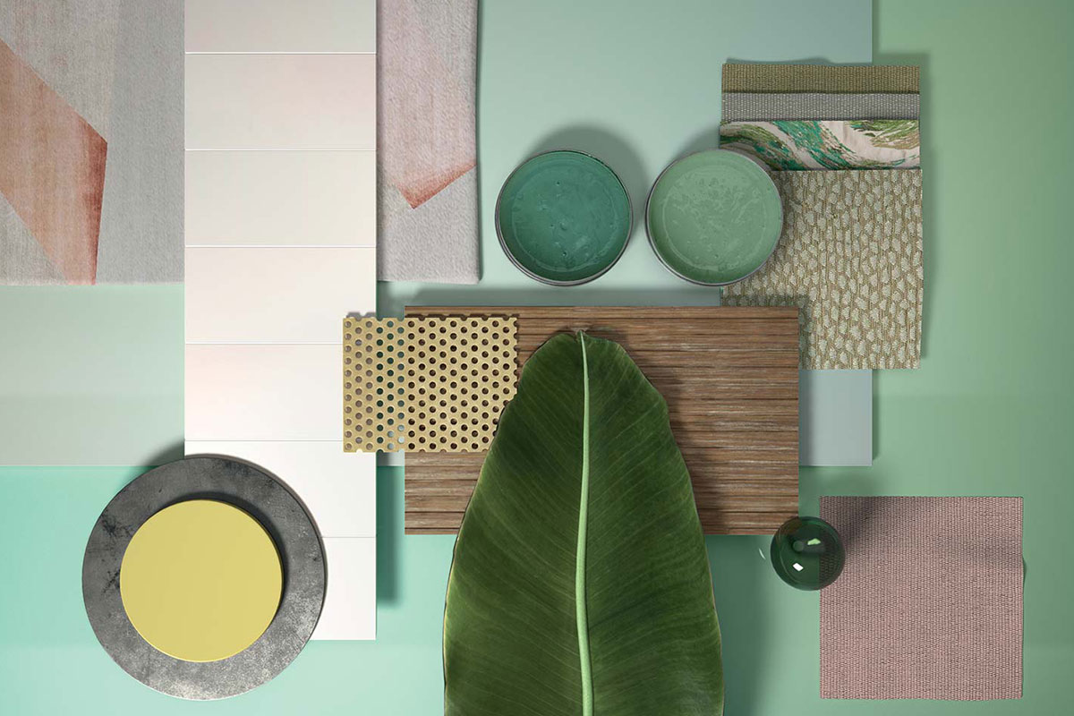 Trending Colours Interior Design 2020