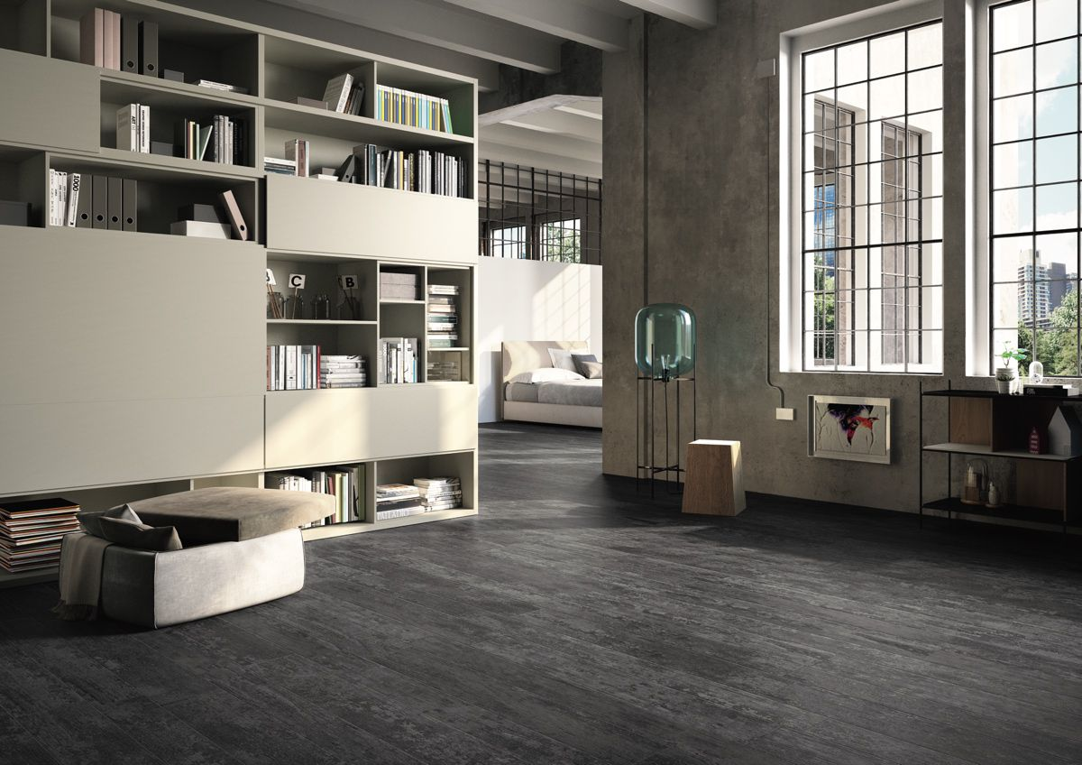 Flooring: Antique Wood Black