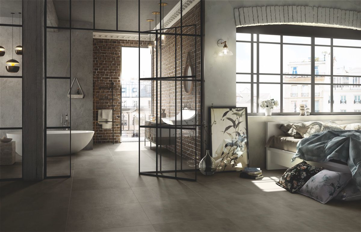 Flooring: Beton Mud